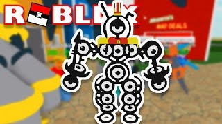 I AM THE UNOWN LORD!!!! | Pokémon Fighters EX | ROBLOX