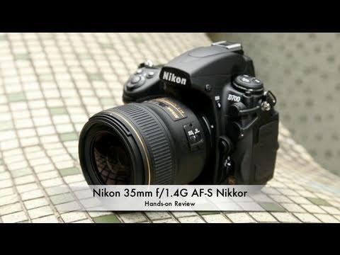 35mm f/1.4 Nikkor Lunghezza focale singola Obiettivi con ...