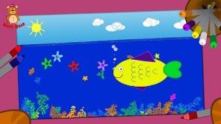 איך לצייר דג? DOTI Bear