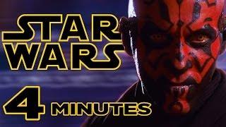 STAR WARS: The Phantom Menace in 4 Minutes
