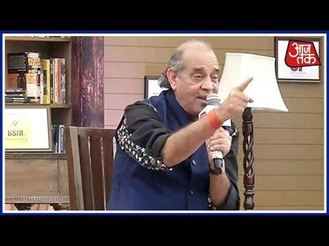 Sahitya Aaj Tak: Hariom Pawar Inspiring...