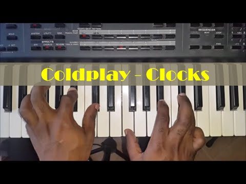 How To Play Clocks By Coldplay Piano Tutorial Chords And Riff