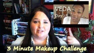 Vlog - 3 Minute MakeUp Challenge, ummm fail. Thumbnail