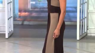 Attitudes by Renee Wide Leg Color-Block Knit Jumpsuit with Jacque Gonzales