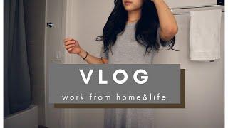 [미국 도시라이프 브이로그 Vlog] 재택근무, 국제커…