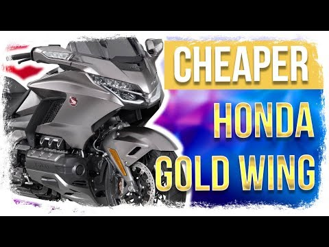 CHEAPER and Sleeker Honda GOLD WING for 2019 + Keyless Ride on Motorcycles