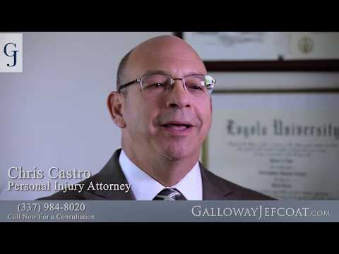 Louisiana Personal Injury Lawyer Chris Castro Describes His Journey to Galloway Jefcoat Law