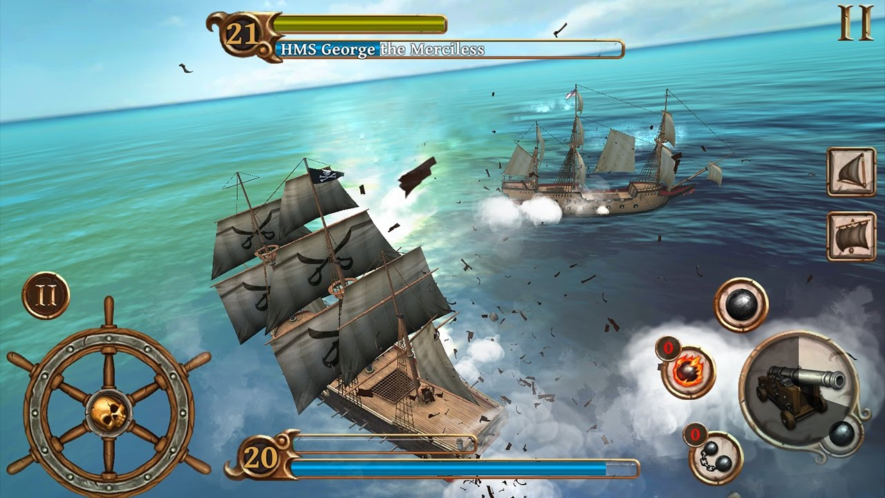 pirate ship battle game # 4