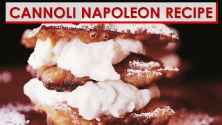 Cannoli Napoleon Recipe
