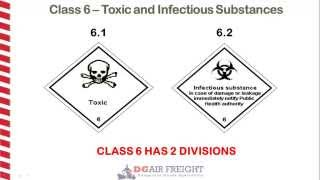 Dangerous Goods Class 6 - Toxic and Infectious Substances