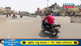 Picture Of 1st Day Of 14-Day Lockdown In Puri