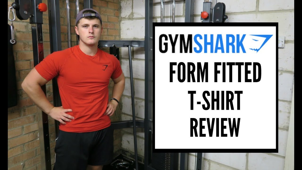 35f8f9546 Gymshark Form Fitted T-shirt Review - YouTube