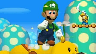 New Super Luigi Bros DS Walkthrough - Part 7 - World 7