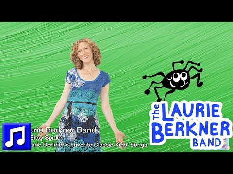 """The Itsy Bitsy Spider"" By The Laurie Berkner Band 