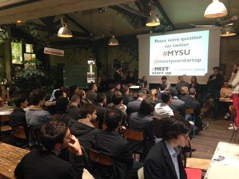 """Meet Your Start-Up #MYSU Edition #3 - """"Les nouveaux entrepreneurs : génération start-ups"""""""