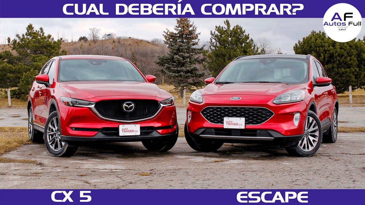 Download Ford Escape - Mazda CX 5 | ¿Cual debería Comprar?