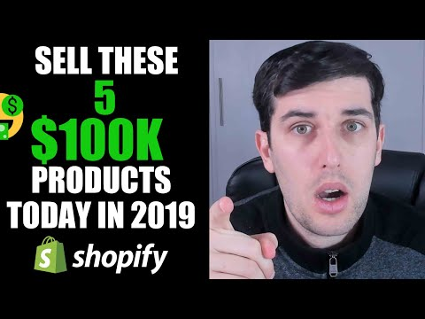 SELL These 5 WINNING $100,000 Products NOW Part 4 | Shopify Dropshipping 2019 thumbnail
