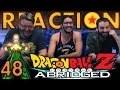 TFS DragonBall Z Abridged REACTION!! Episode 48