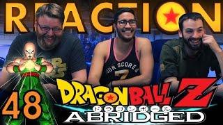 TFS DragonBall Z Abridged REACTION Episode 48