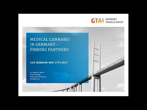 Webinar: Medical Cannabis in Germany – Tender Process & Partnering (May 2017)