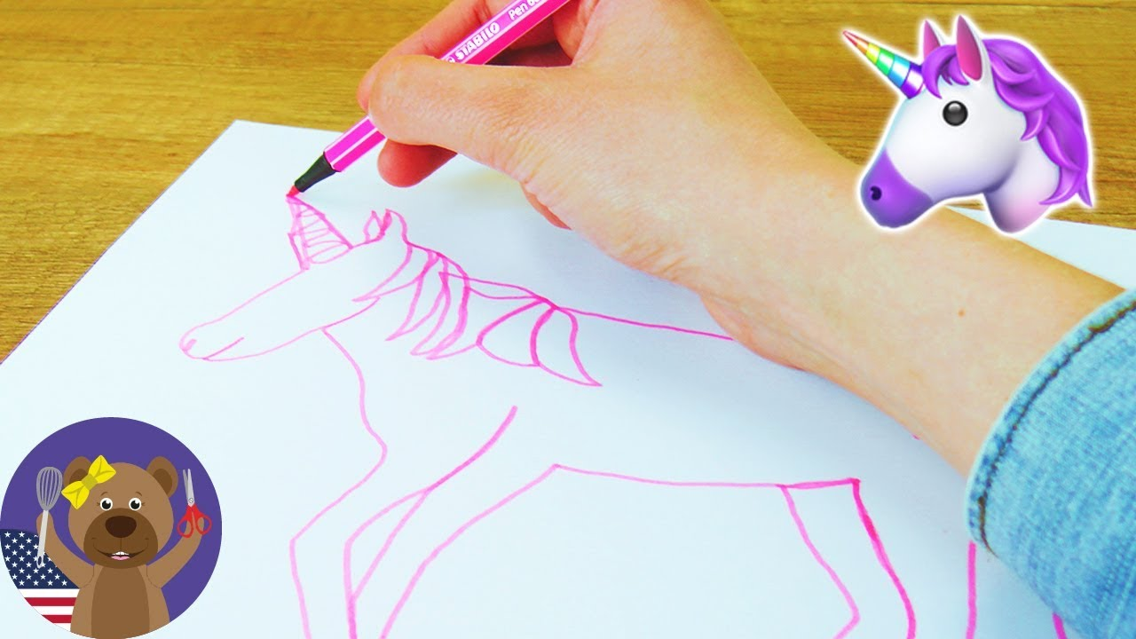 Single Line Character Art : Drawing challenge one line art unicorn try can i do