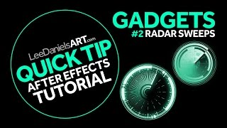 QUICK TIP | After Effects | GADGETS #2 | Radar Sweeps