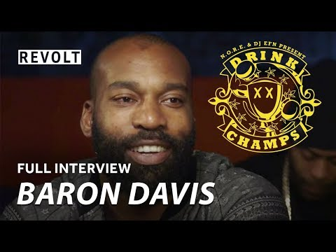 Baron Davis | Drink Champs (Full Episode)