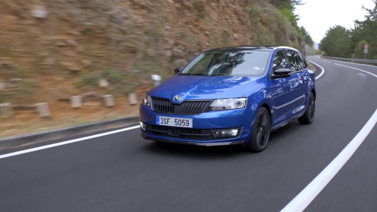 2016 Skoda Rapid Spaceback Monte Carlo Driving Video Automototv
