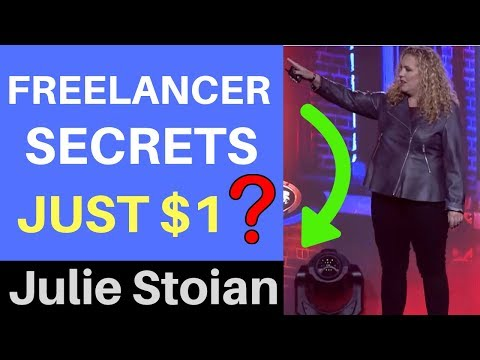 Freelancer Secrets - How To Go From $0 To Six-Figure Freelancer (Julie Stoian)