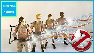 """Mattel GHOSTBUSTERS 2016 6"""" Figures Review"""