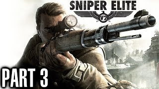 Sniper Elite V2 Walkthrough Part 3 Mittlework Facility - Gameplay & Live Commentary