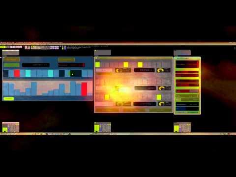 Modular VST Host Usine selfbuild Sequencer driving PPG Synthesizer and samplers