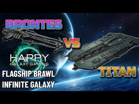 Infinite Galaxy - Flagship Brawl: Titan vs Brontes