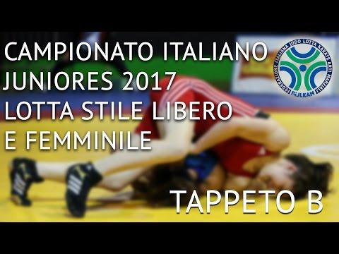 Lotta Campionato Italiano Juniores Stile Libero e Femminile 2017 - MAT B