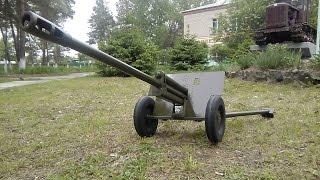 76-мм дивізійна гармата (ЗІС-3) Масштаб 1:4. Салют 9 травня