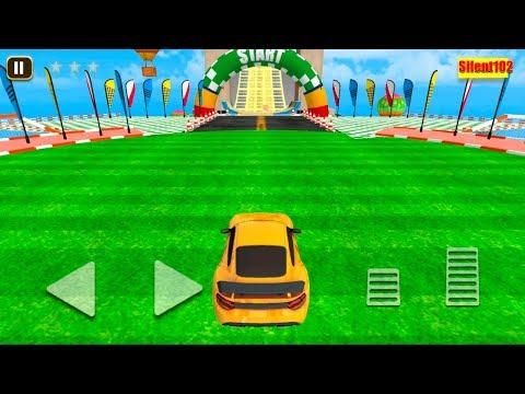 Mega Ramp Amazing Car Tracks, Stunts & Racing Game #2 - By Silent102 Gamedy