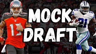 Fantasy Football Mock Draft/Podcast 2020