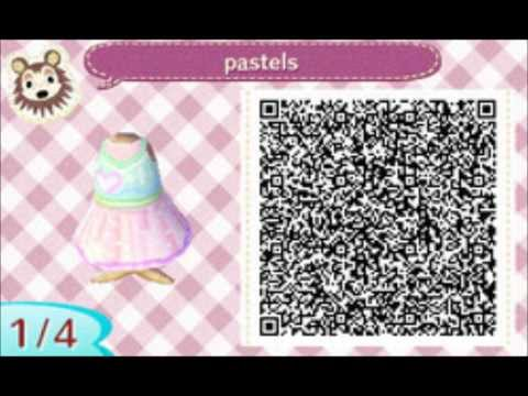 Animal Crossing New Leaf QR Codes Part 1