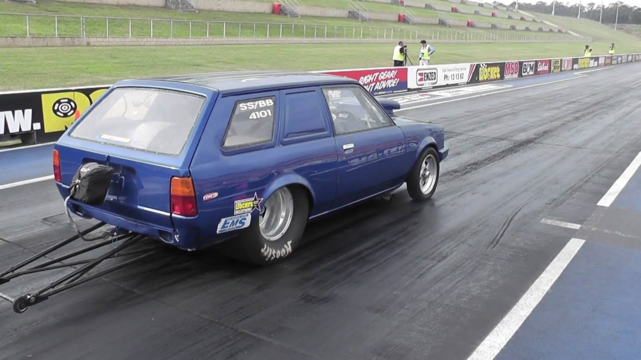 8-Sec 1000hp Turbo 2JZ Toyota Corolla Wagon @ WSID 24/4/10 - YouTube