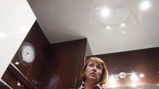 Отзыв от Сурковой Марины о нашей работе(Отзыв об установке натяжных потолков в санузле от Сурковой Марины из Балашихи., 2016-12-27T10:35:31.000Z)
