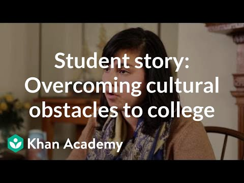 Student story: Overcoming cultural obstacles to college
