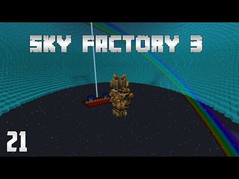 Sky Factory 3 EP21 RFTools Builder + More Roots