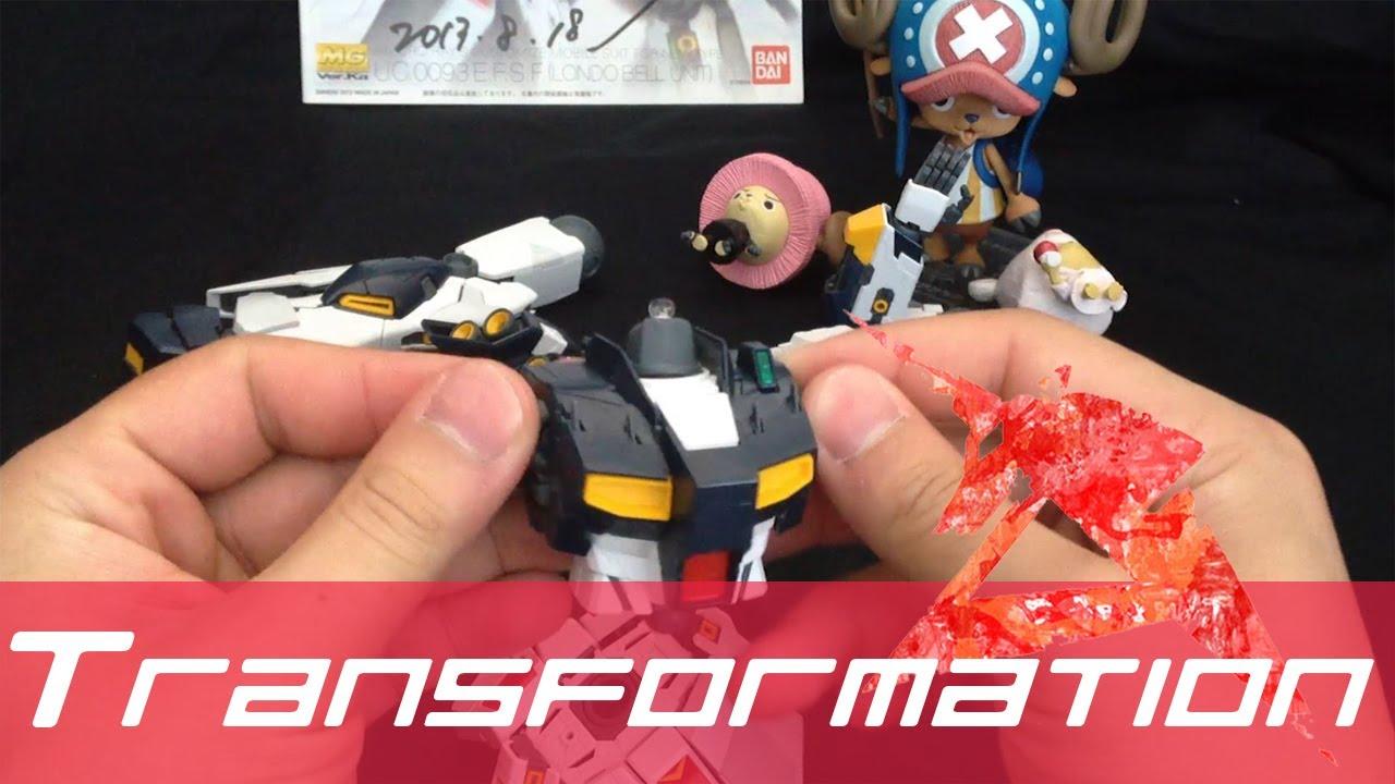 Gunpla Review Mg Nu Gundam Ver Ka Part 4 Transformation Youtube Rx78 2 Verka 114215