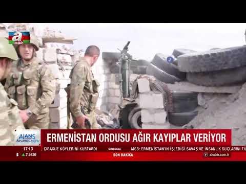Ermenistan Ordusu Ağır Kayıplar Veriyor!