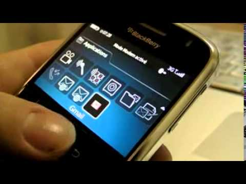 Test -: Blackberry BOLD 9000