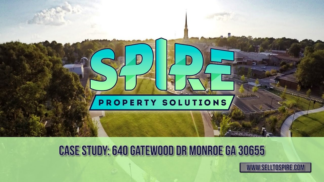 'Sell My House Fast in Monroe' – Sell To Spire – 640 Gatewood Way Monroe GA 30655