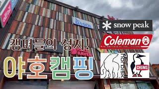 [느슨캠핑] 캠린이 부부 FLEX!  + 캠핑용품 언박…