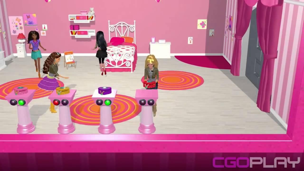 Barbie dreamhouse party chelsea 39 s room dress it up mini - Barbie living room dress up games ...