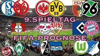 Bundesliga 9.Spieltag 2017/2018 Komplett (FIFA 18 PROGNOSE) Deutsch (HD)