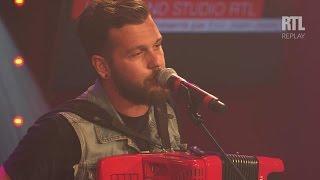 Claudio Capéo - Un homme debout - Live dans le Grand Studio RTL